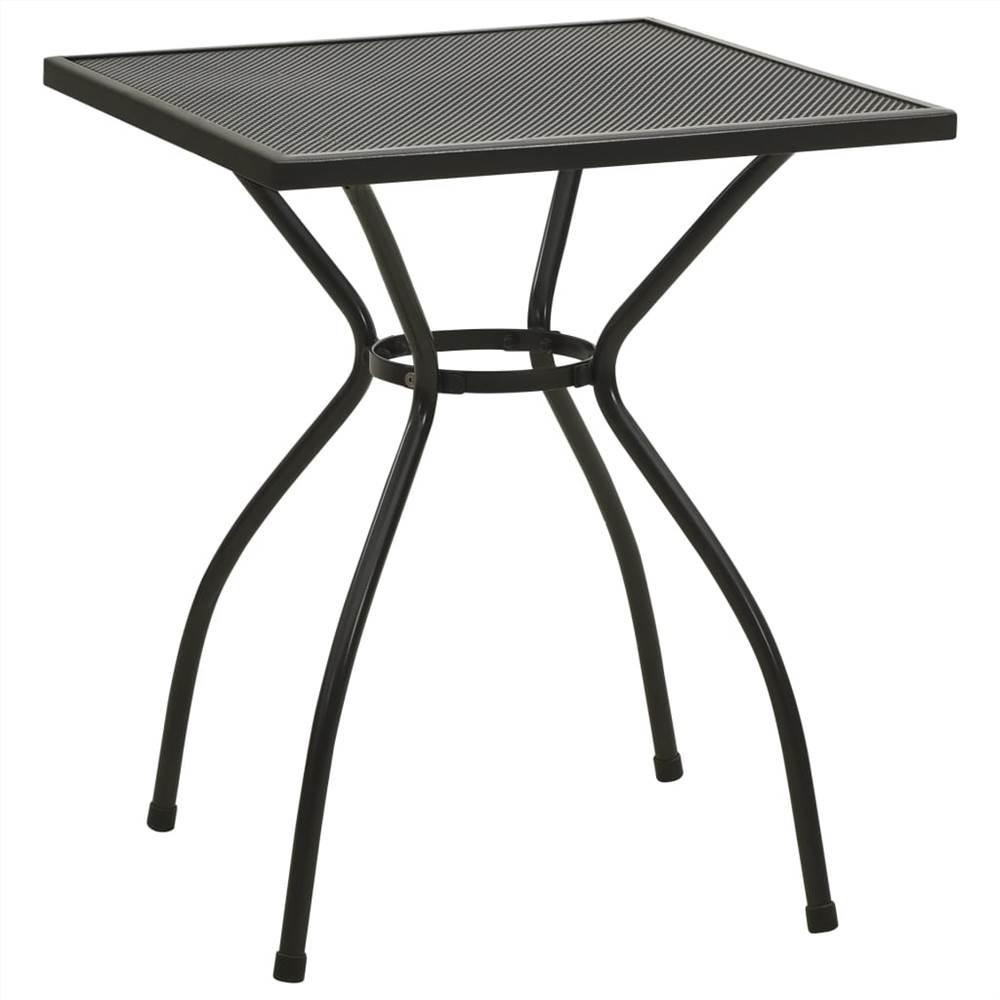 Bistro Table 60x60x70 cm Steel Mesh