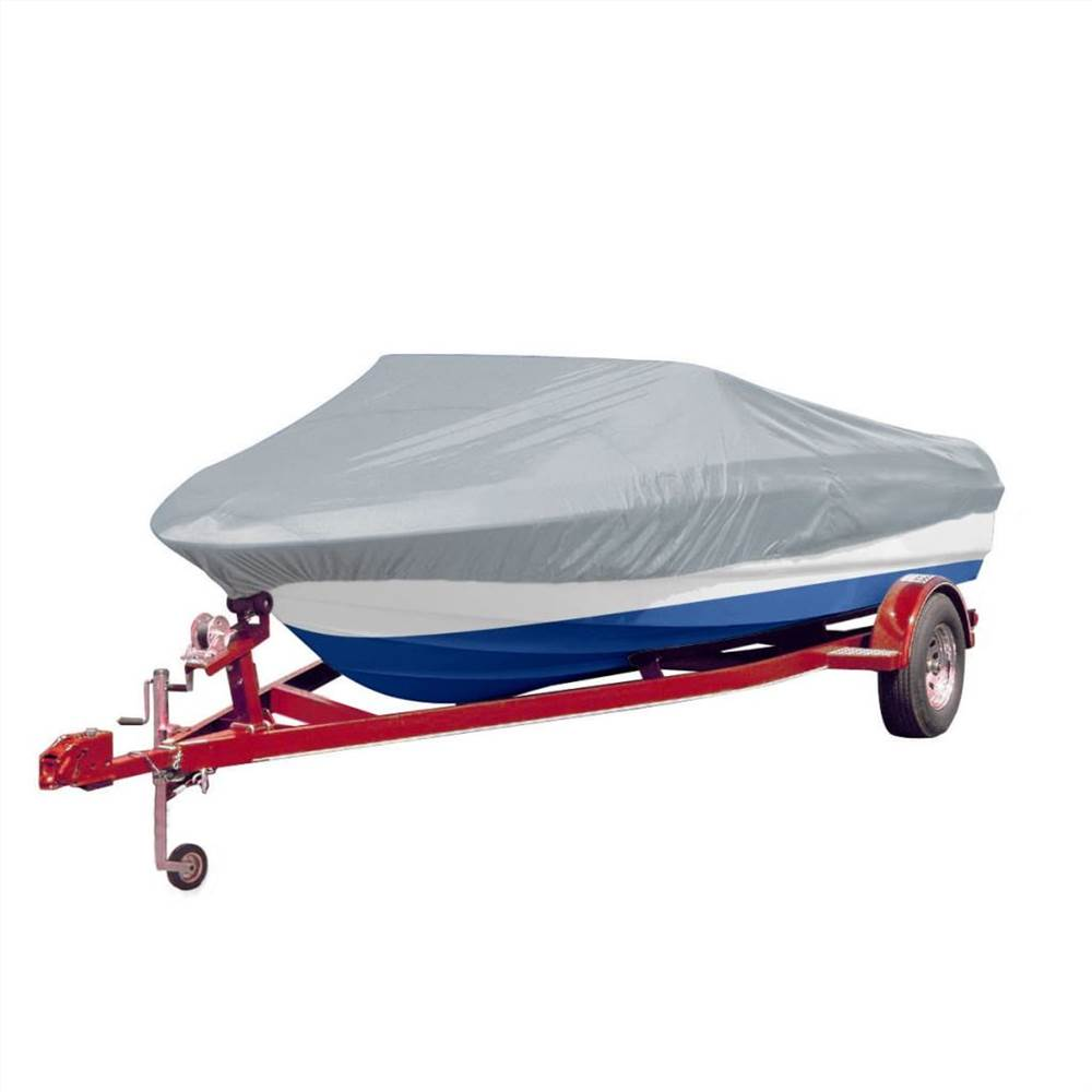Boat Cover Grey Length 488-564 cm Width 239 cm