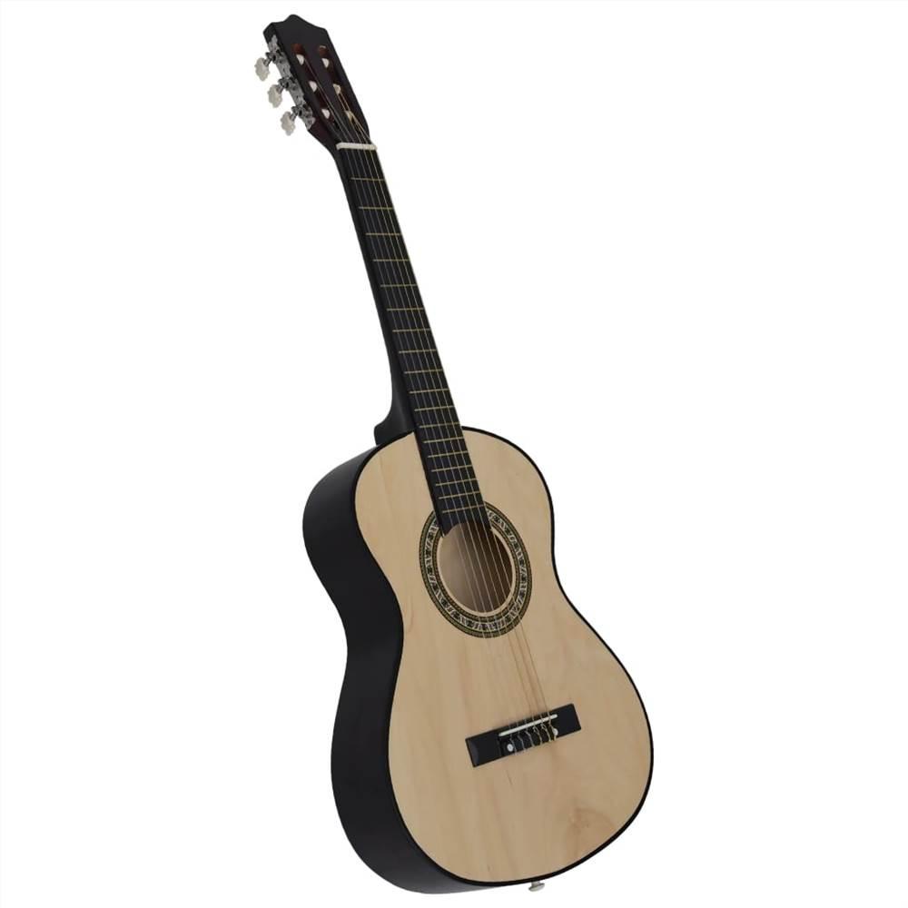 Klasszikus akusztikus gitár kezdőknek és gyerekeknek 1/2 34 Basswood