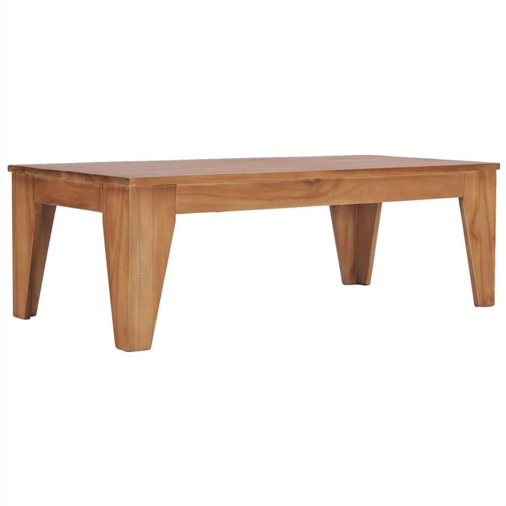 Table basse 120x60x40 cm Bois de teck massif