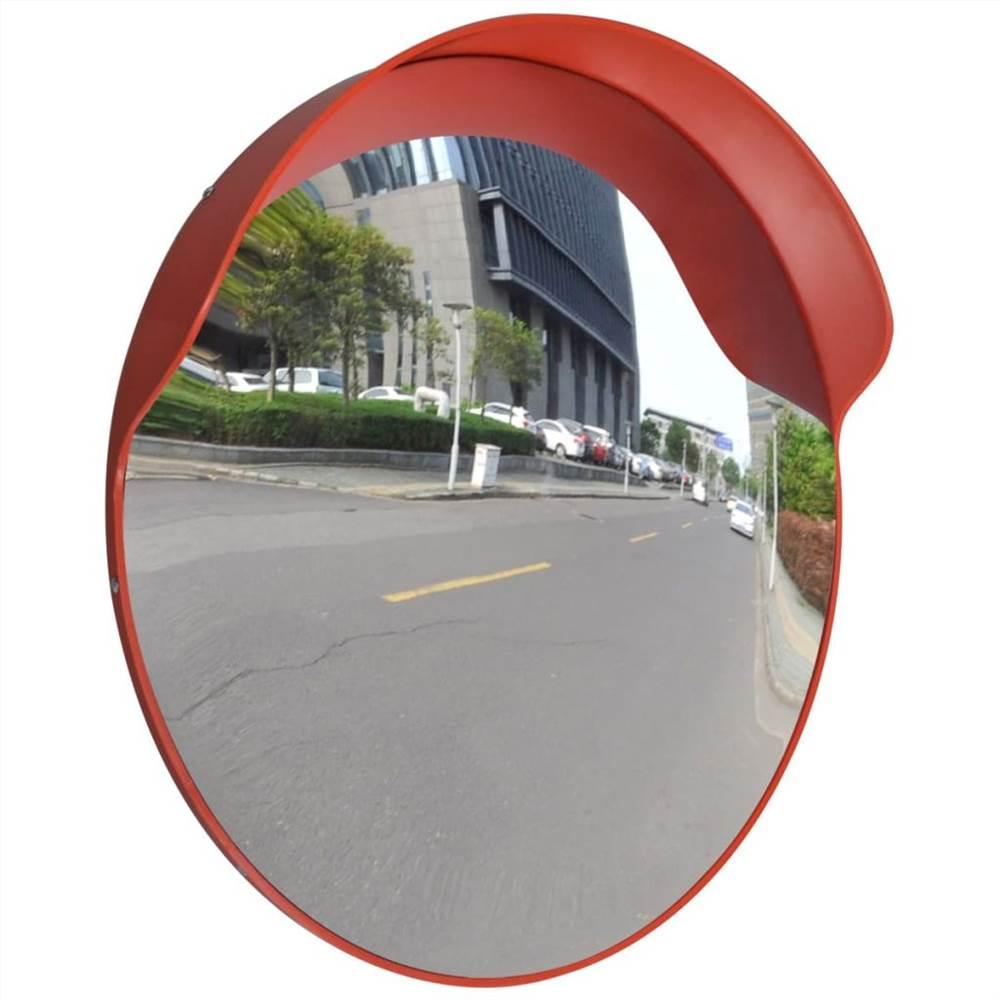 Miroir Circulation Convexe PC Plastique Orange 60 cm Extérieur