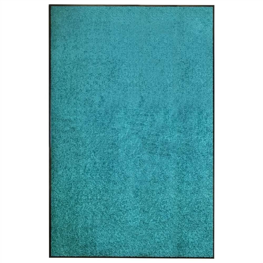 Paillasson Lavable Cyan 120x180 cm