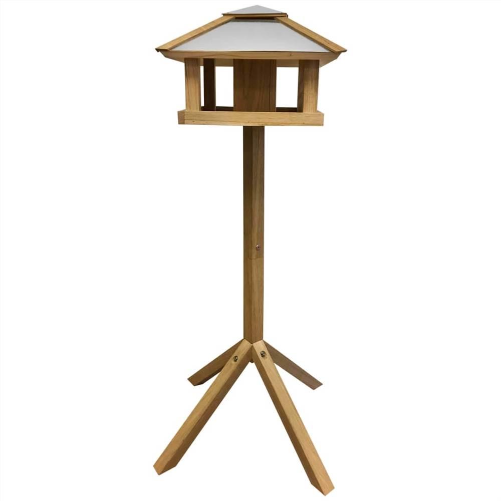 Esschert Design Bird Table Square Steel Roof FB433