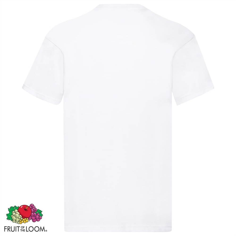 fruit of the loom original t shirts 10 pcs xxl cotton