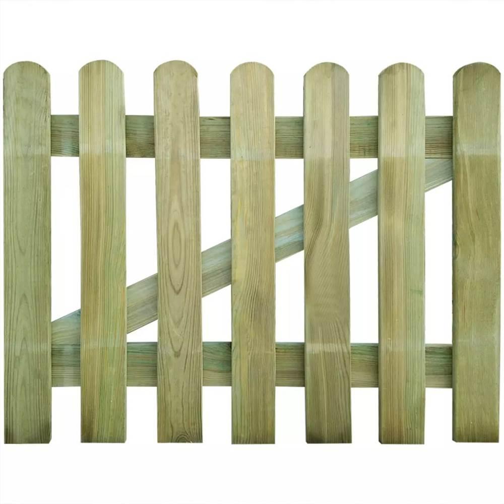 Garden Gate Wood 100x80 cm