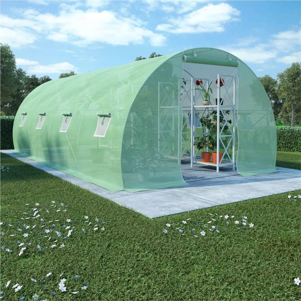 Greenhouse 18m² 600x300x200 cm