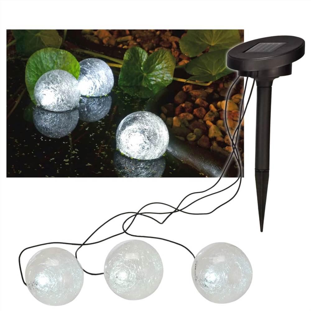 HI Solar LED Schwimmendes Teichlicht 9 cm