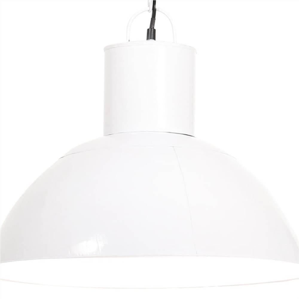 Hanging Lamp 25 W White Round 48 cm E27