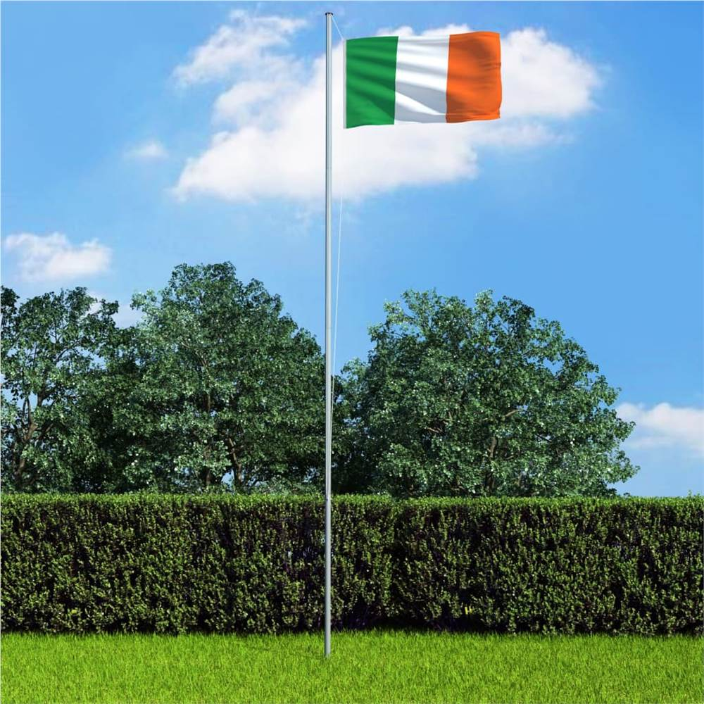 Ireland Flag and Pole Aluminium 6,2 m