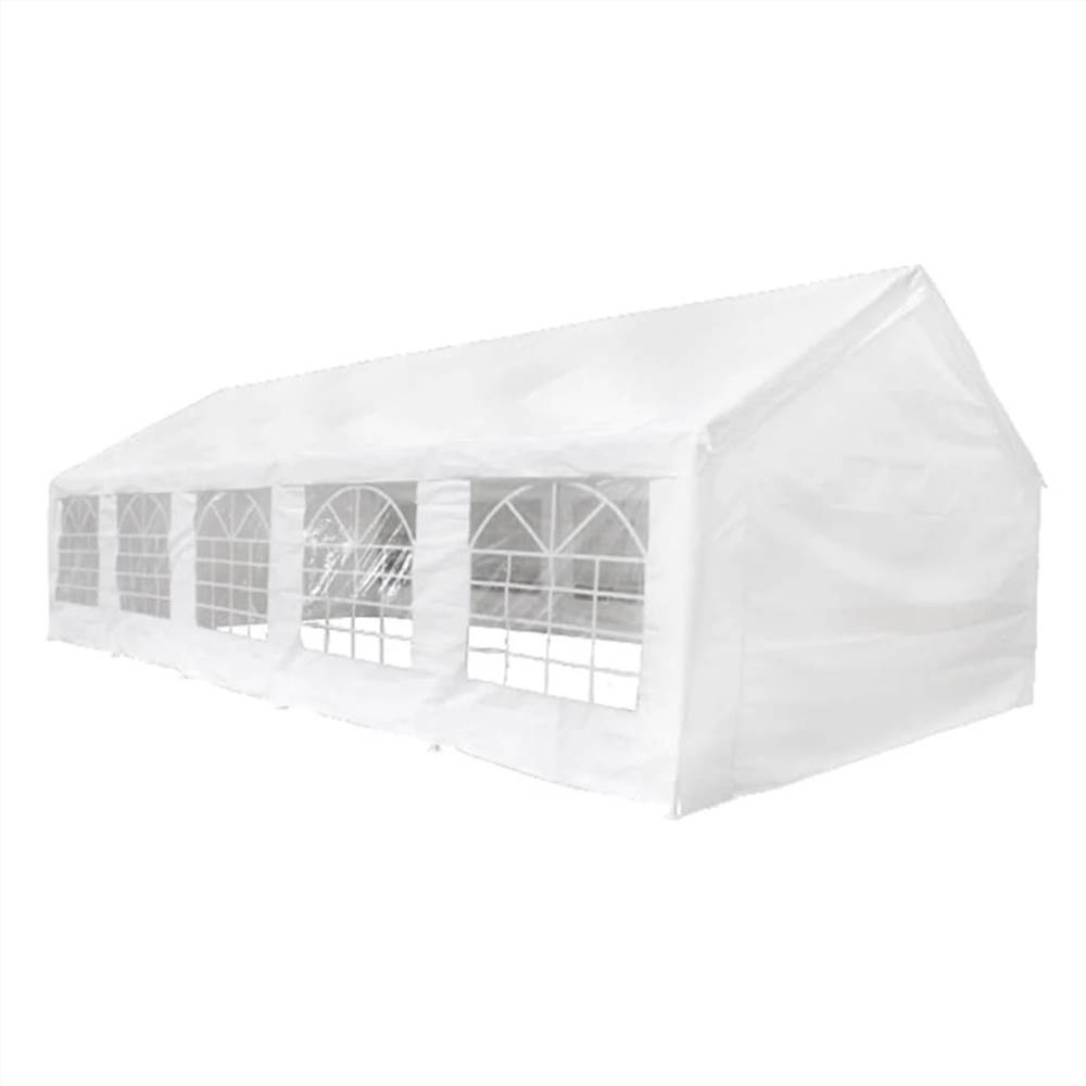 Party Tent 10 x 5 m White
