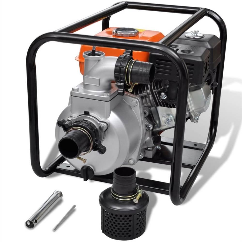 Pompe à eau moteur essence 80 mm Raccordement 6.5 CV