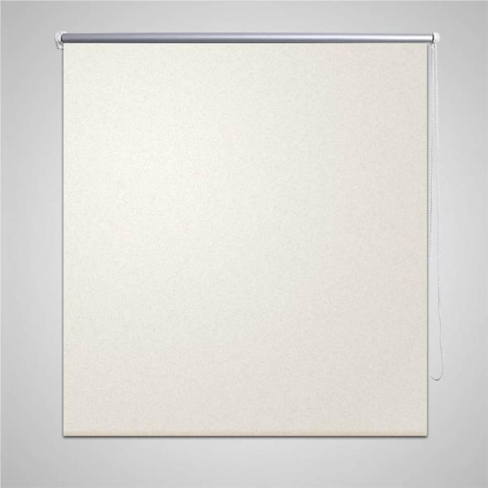 Tenda a rullo oscurante 120 x 175 cm bianco sporco