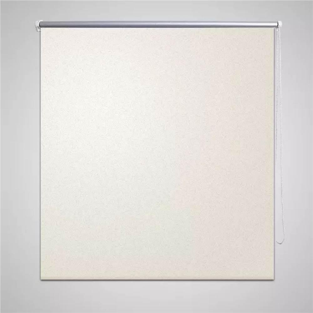 ローラーブラインドブラックアウト160x 230cmオフホワイト
