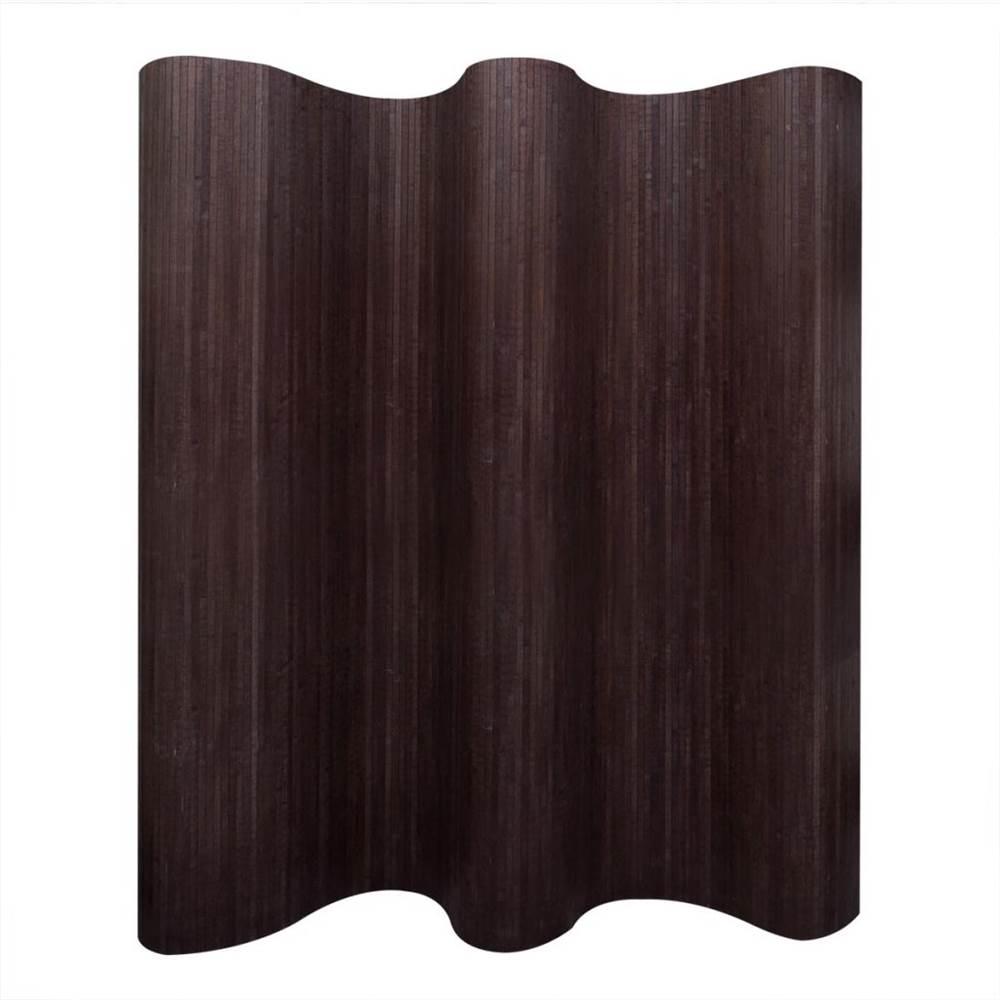 Paravent Bambou Brun Foncé 250x165 cm