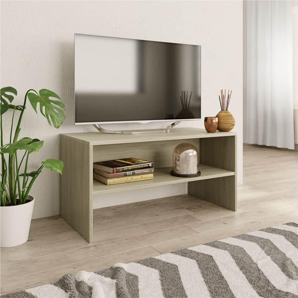 Meuble TV Sonoma Oak 80x40x40 cm Aggloméré