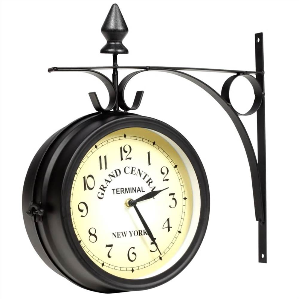 Two-sided Wall Clock 20 cm