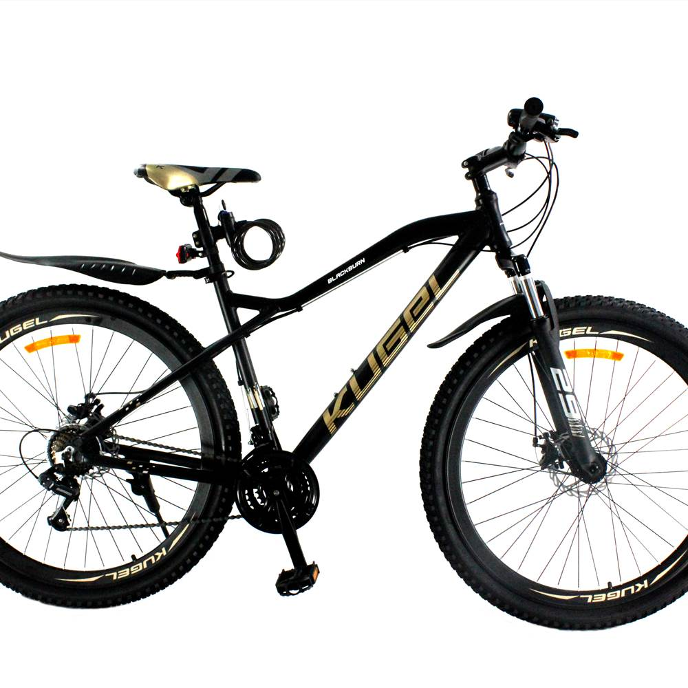 29 Inch Aluminum Alloy Mountain Bike Kugel Blackburn Black/Gold