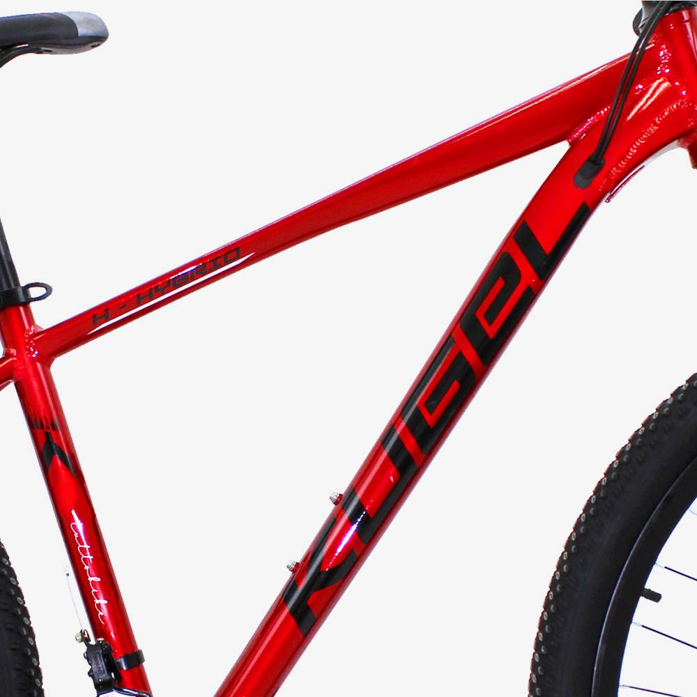 29 Inch Aluminum Alloy Mountain Bike Kugel H-Hybrid Red