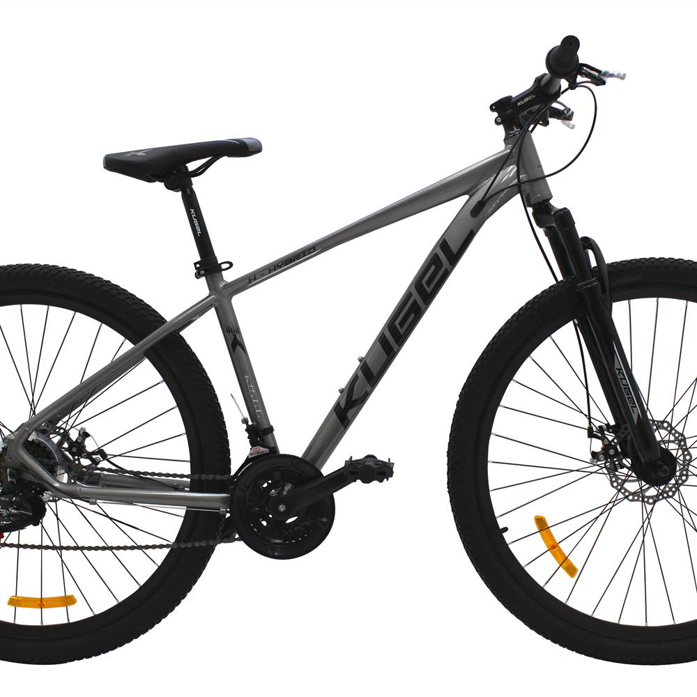 COMPLETE BICYCLE 29 Inch Kugel H-HYBRID GREY 85% ASSEMBLY