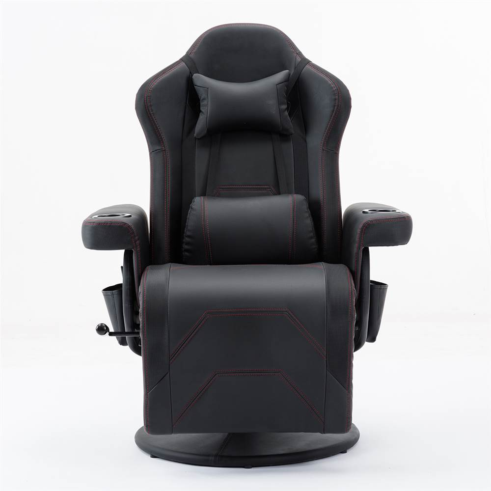 Gaming Chair/Reclining Gaming Chair/Adjustable headrest and lumbar support