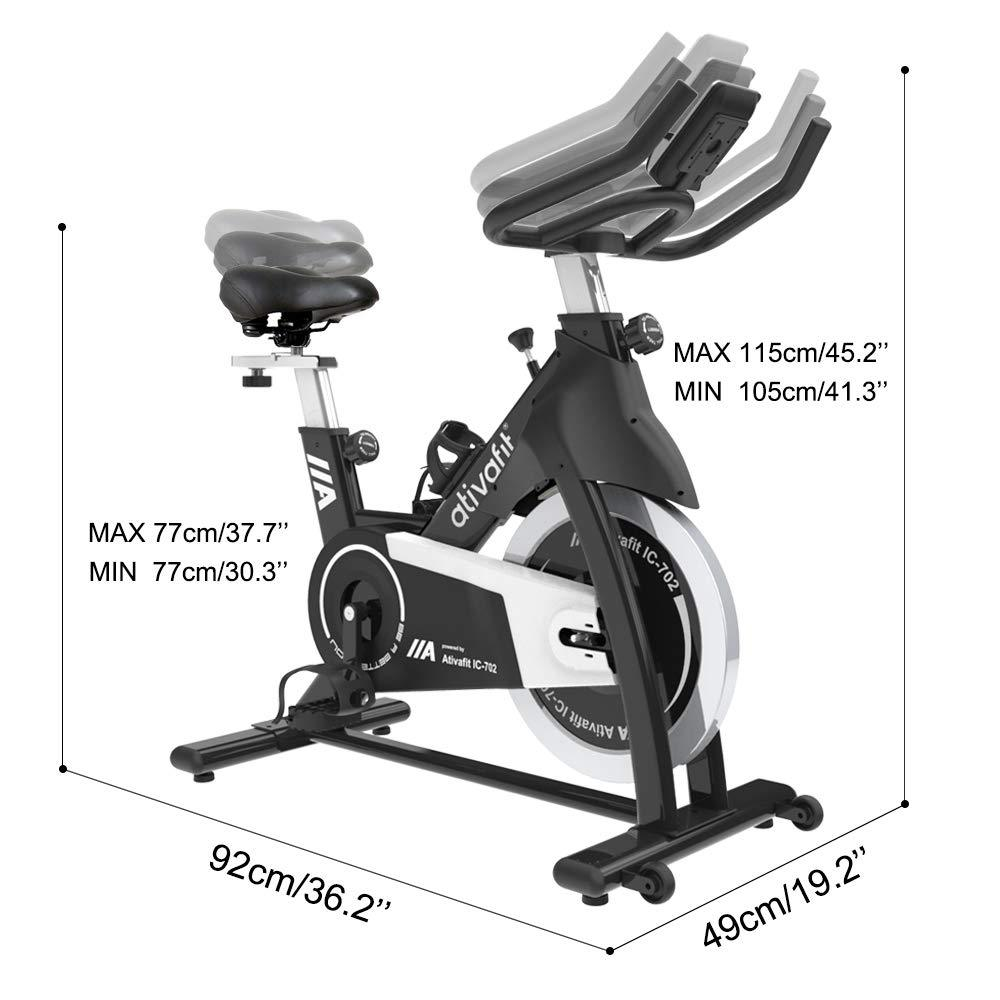 Spin Bike IC-702 (IMPERIAL)