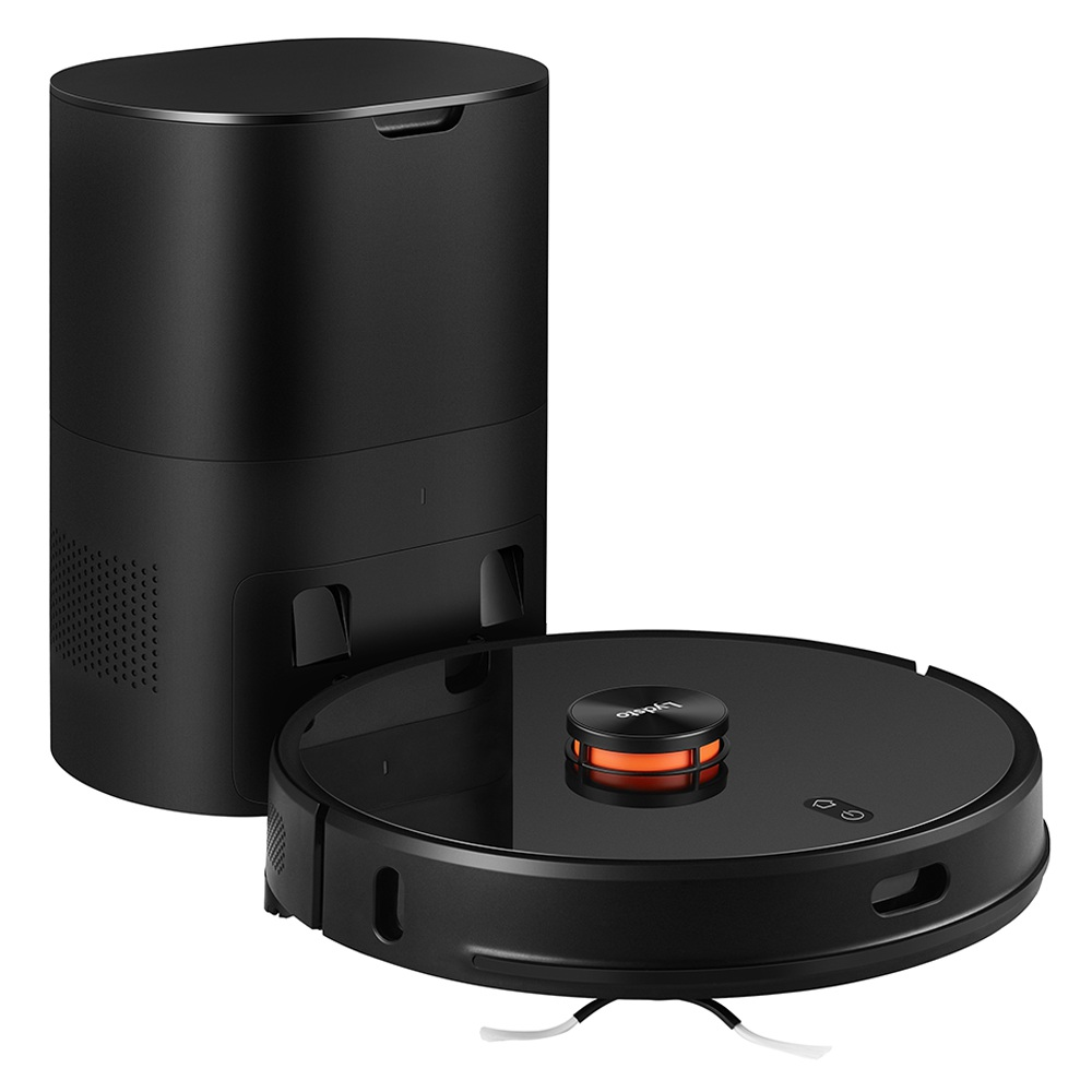 LydstoR1ロボット掃除機とインテリジェント集塵機統合スイープとモップ2700Pa強力な吸引5200mAhバッテリーLDSレーザーナビゲーション-黒