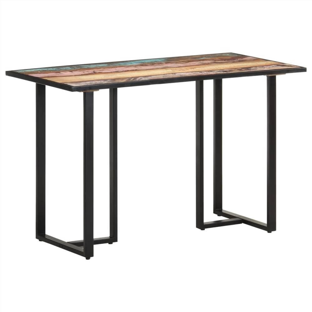 Tavolo da pranzo 120 cm in legno massello di recupero