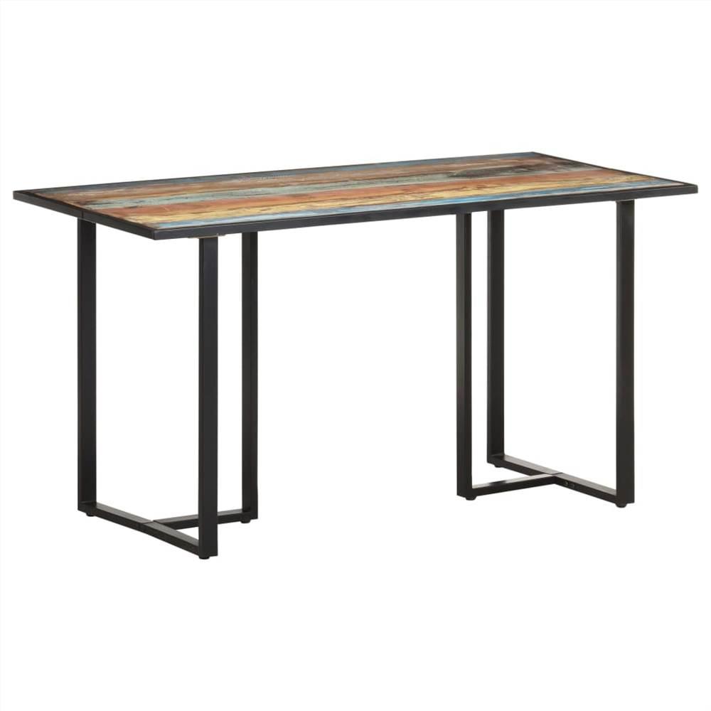 Tavolo da pranzo 140 cm in legno massello di recupero