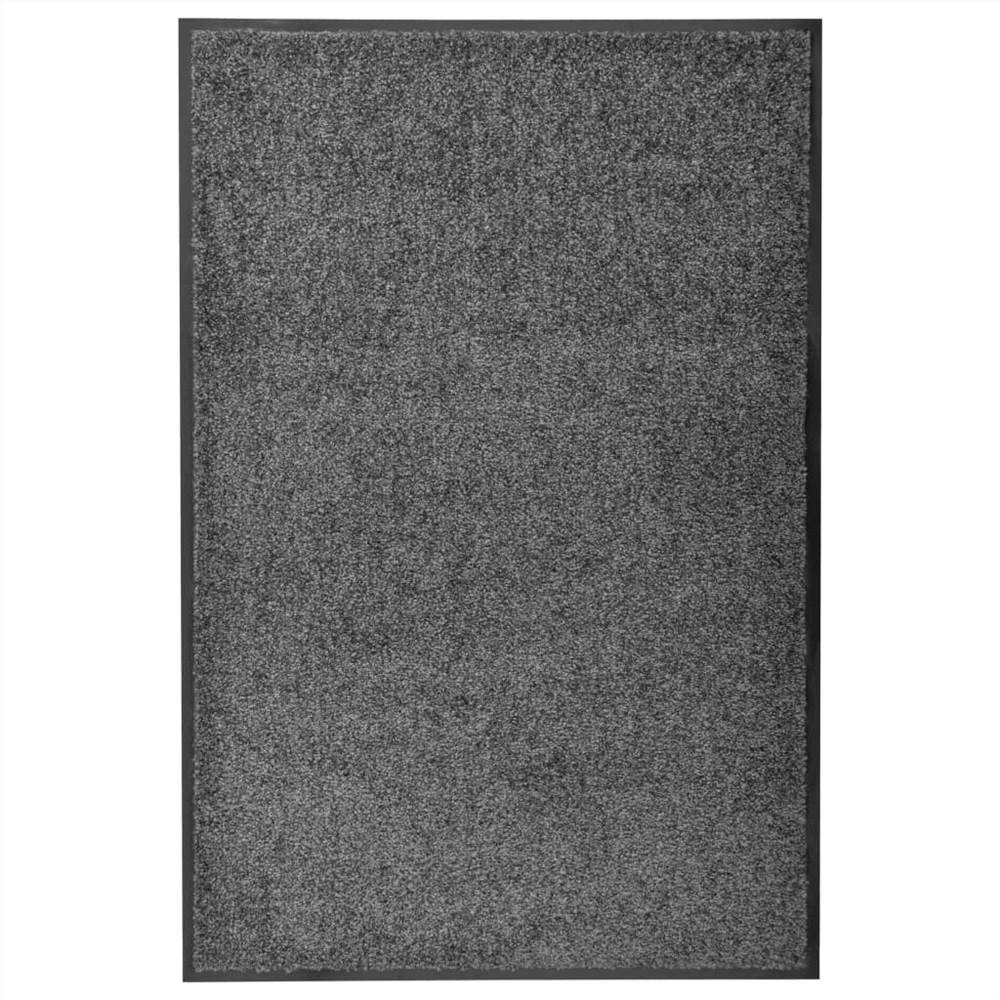 Doormat Washable Anthracite 60x90 cm