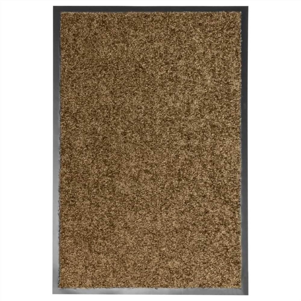 Paillasson Lavable Marron 40x60 cm