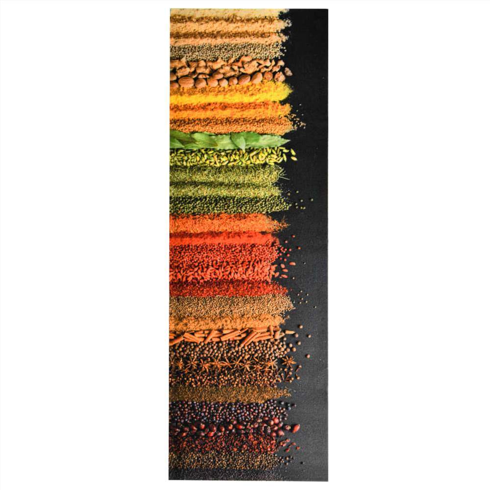 Tapis de sol de cuisine lavable Spice 45x150 cm
