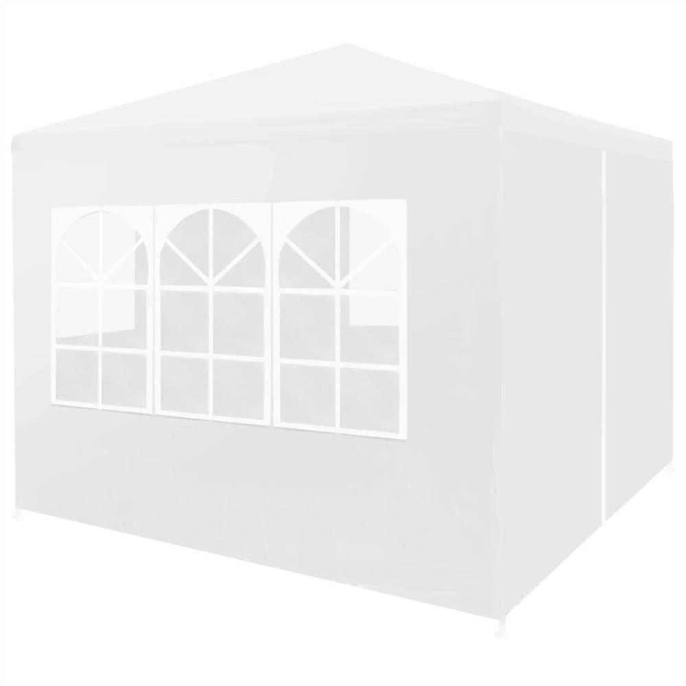 Partyzelt 3x3 m Weiß