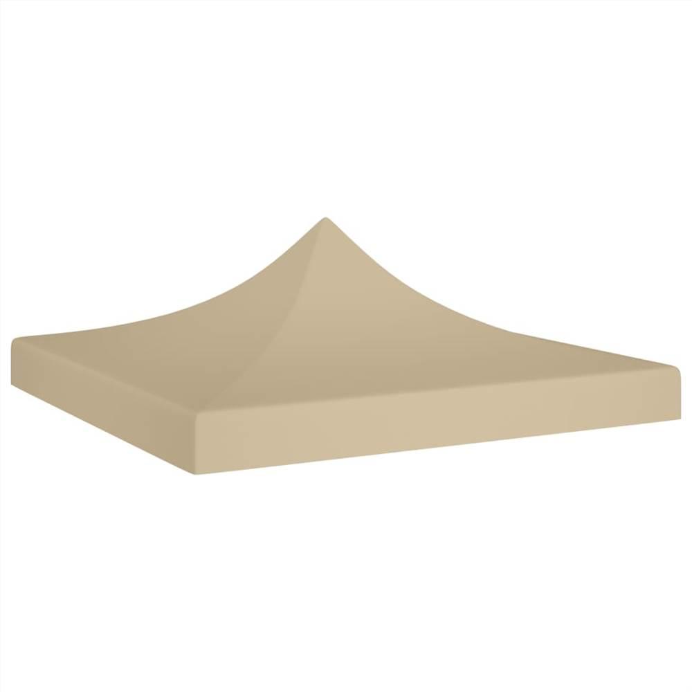 Party Tent Roof 2x2 m Beige 270 g/m²