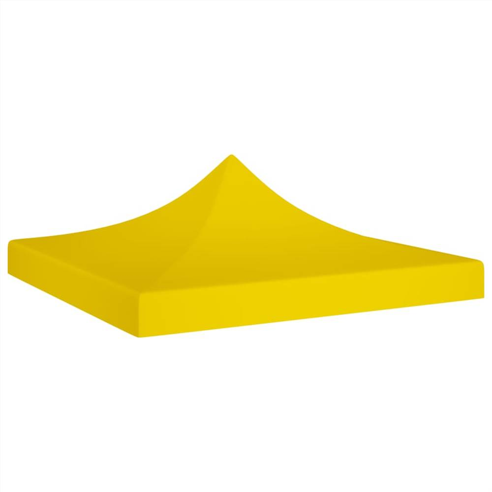 Party Tent Roof 2x2 m Yellow 270 g/m²