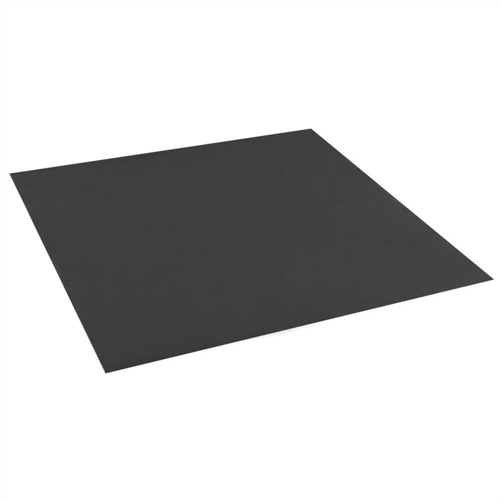 Doublure de bac à sable Noir 100x100 cm