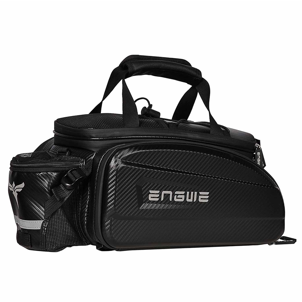 ENGWE Wodoodporna torba na bagażnik rowerowy o dużej pojemności 35 l