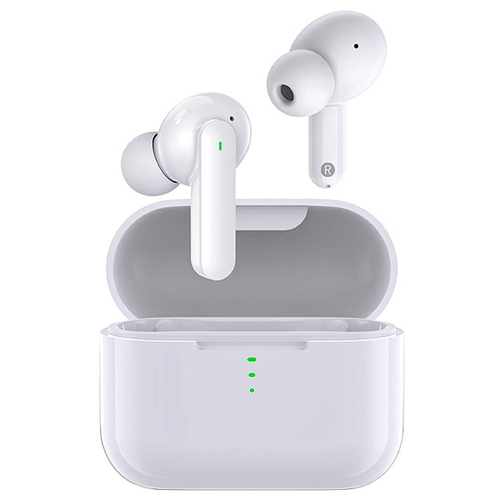 QCY T11 Hifi Dynamic Armature TWS Earbuds с 4 микрофонами, шумоизоляция, управление приложением быстрой зарядки - белый