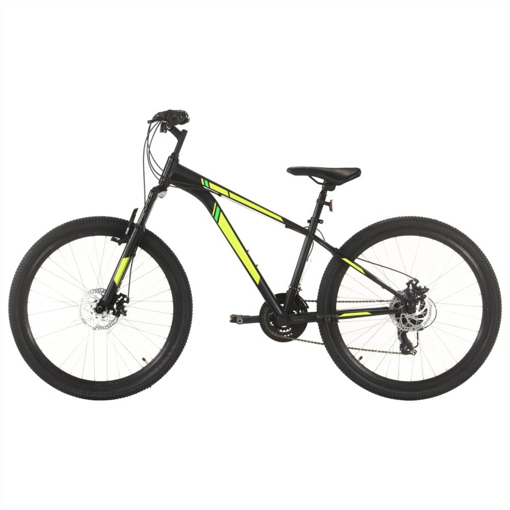 Mountain Bike 21 Speed 27.5 inch Wheel 38 cm Black, Other  - buy with discount