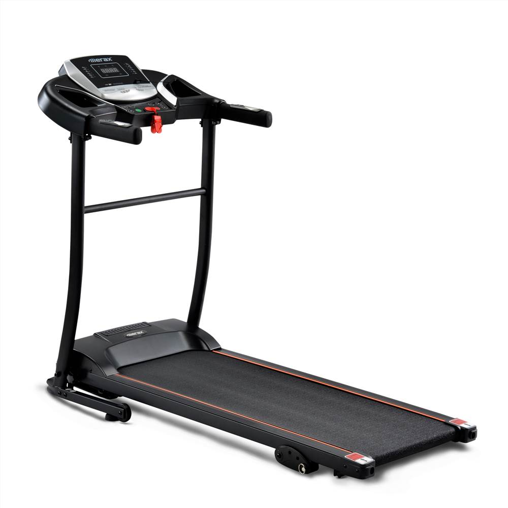 Foldable Treadmill For The Home Exercise Equipment With APP USB Bluetooth AUX Connectivity LED Display Black