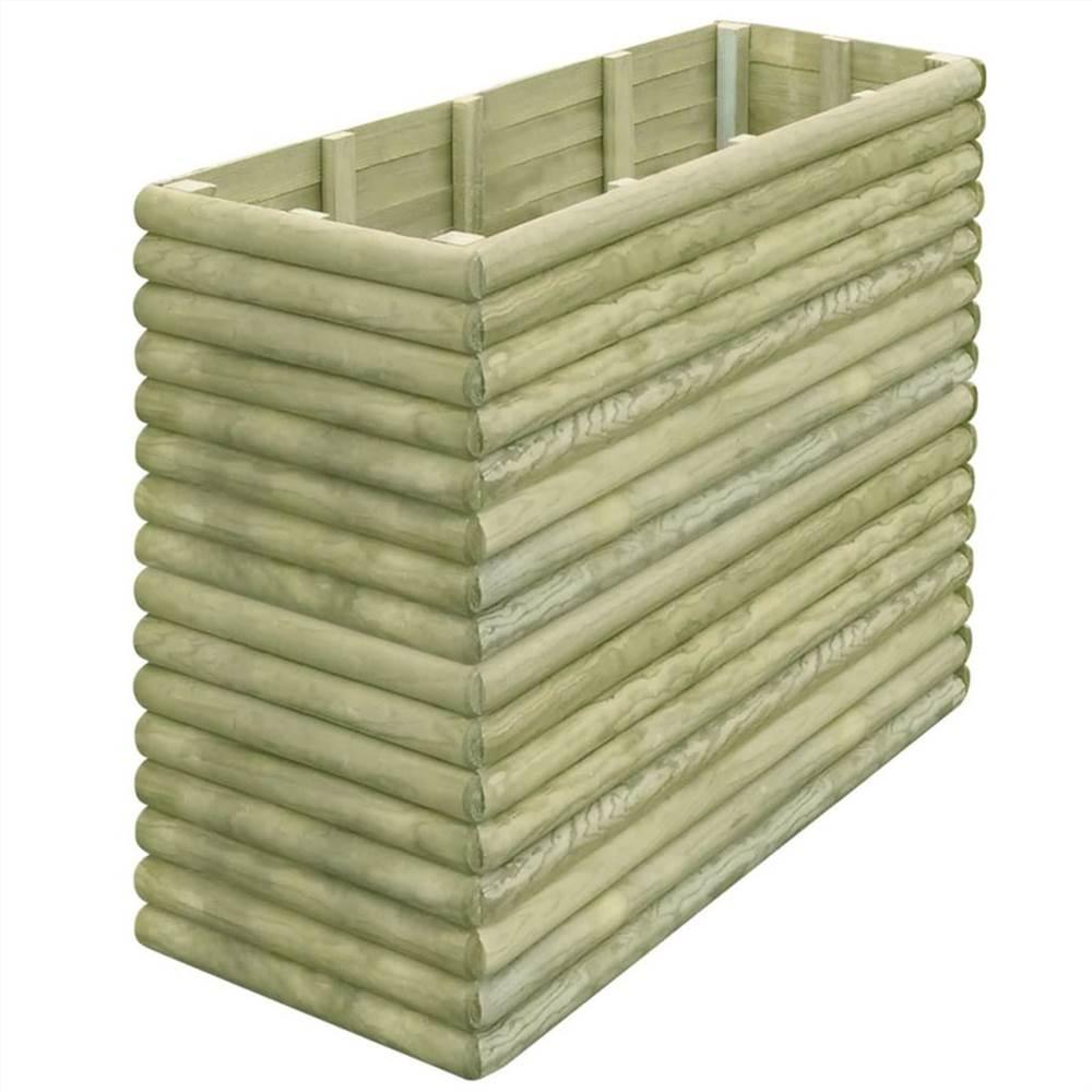 Garden Raised Bed 150x56x96 cm Impregnated Pinewood 19 mm