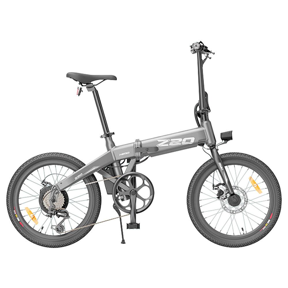 HIMO Z20 összecsukható elektromos kerékpár 20 hüvelykes gumiabroncs 250W egyenáramú motor 80 km hatótávolságig 10Ah kivehető akkumulátor