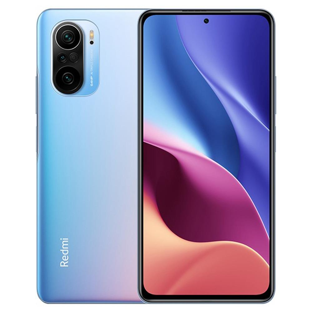 Xiaomi Redmi K40 Pro+ CN Version 6.67 Inches 5G LTE Smartphone Snapdragon 888 12GB 256GB Triple Rear Cameras 108.0MP + 8.0MP + 5.0MP MIUI 12 Android 11 NFC Fingerprint Fast Charge - Blue