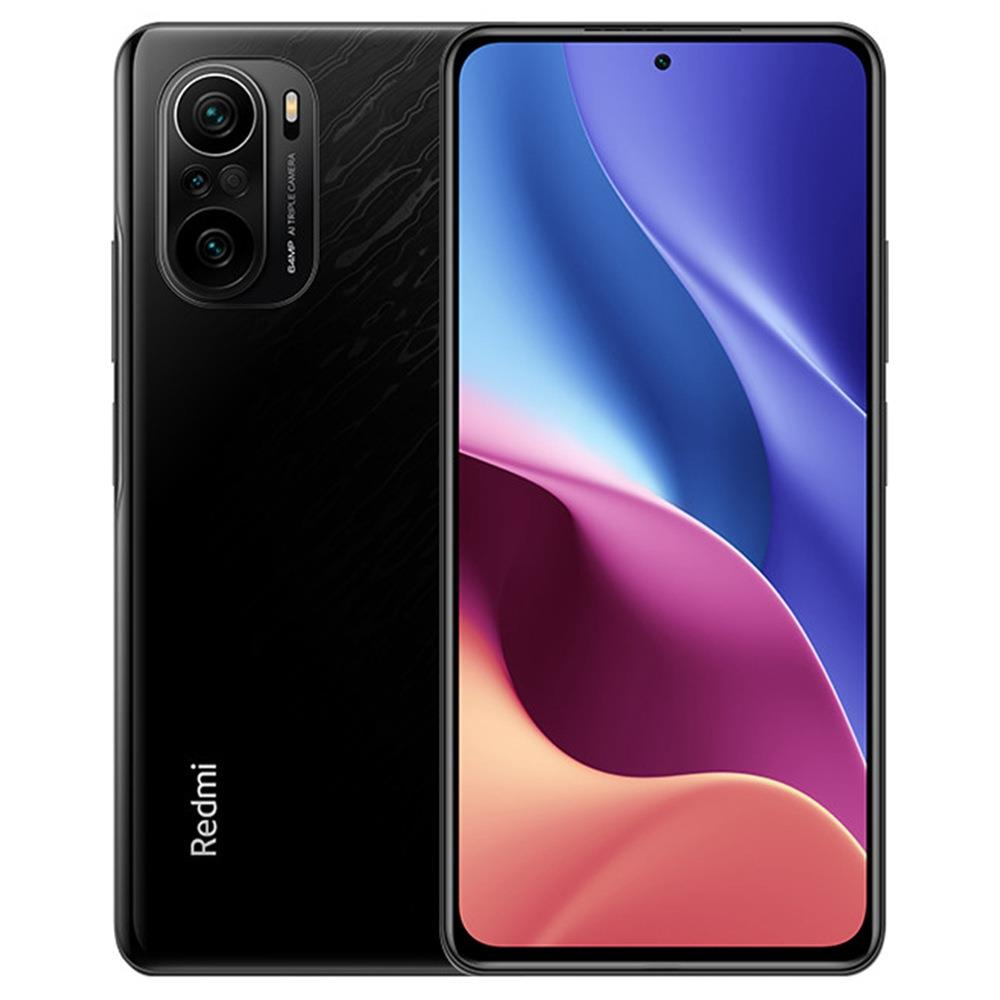 Xiaomi Redmi K40 Pro+ CN Version 6.67 Inches 5G LTE Smartphone Snapdragon 888 12GB 256GB Triple Rear Cameras 108.0MP + 8.0MP + 5.0MP MIUI 12 Android 11 NFC Fingerprint Fast Charge - Black