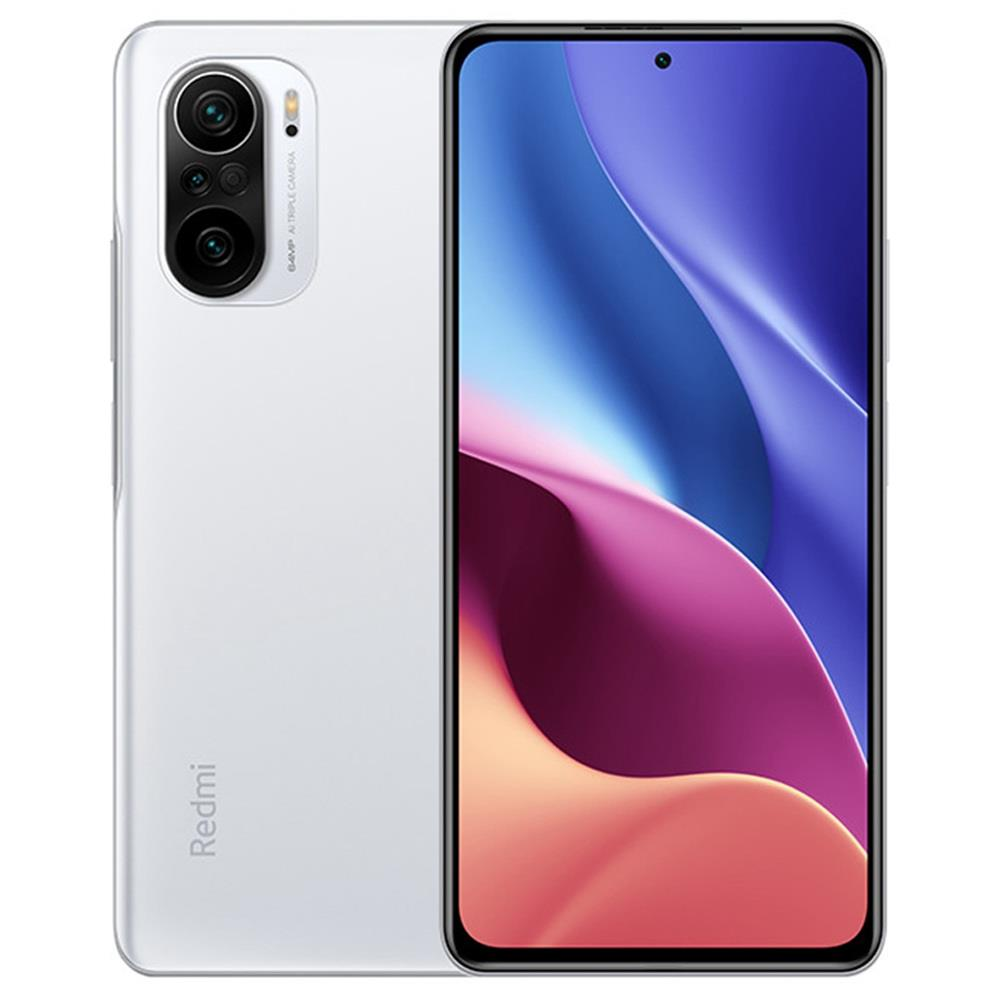 Xiaomi Redmi K40 Pro+ CN Version 6.67 Inches 5G LTE Smartphone Snapdragon 888 12GB 256GB Triple Rear Cameras 108.0MP + 8.0MP + 5.0MP MIUI 12 Android 11 NFC Fingerprint Fast Charge - White