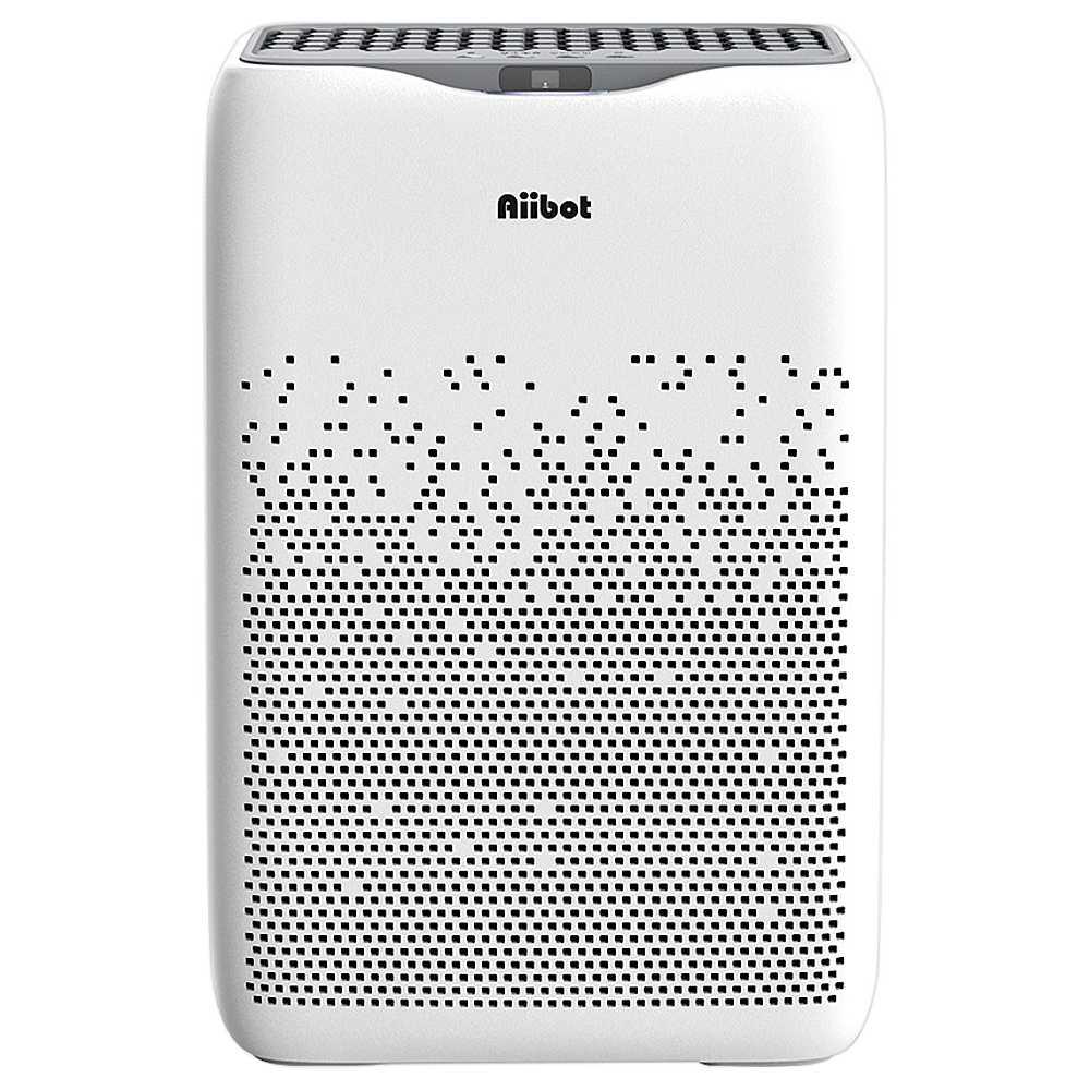 Aiibot EPI188 Μονό Φίλτρο Καθαριστής Αέρος Φίλτρο 4 σταδίων 99.97% Απόδοση φιλτραρίσματος για εισπνεόμενα σωματίδια, γύρη, σκόνη, βακτήρια, καλούπι, φορμαλδεΰδη - Λευκό