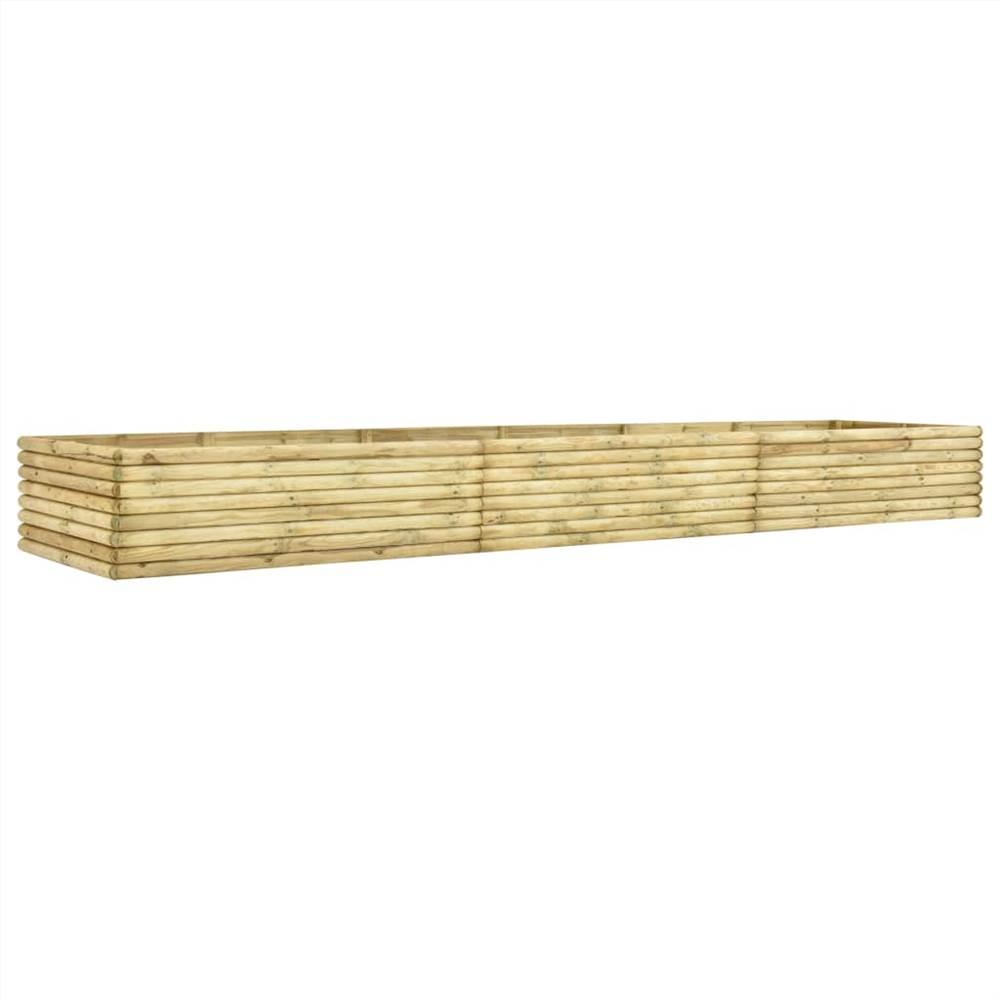 Garden Raised Bed 450x50x48 cm Impregnated Pinewood 19 mm
