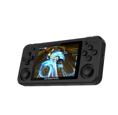 ANBERNIC RG351P 64GB Ретро игровая консоль RK3326 с открытым исходным кодом 3.5-дюймовый IPS-экран - черный