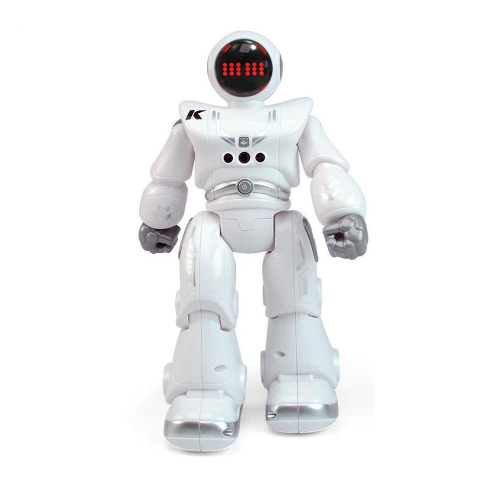 JJRC R18 RC Robot 2.4G Wykrywanie gestów Programowalny pilot Muzyka Taniec Robot Zabawka - biały