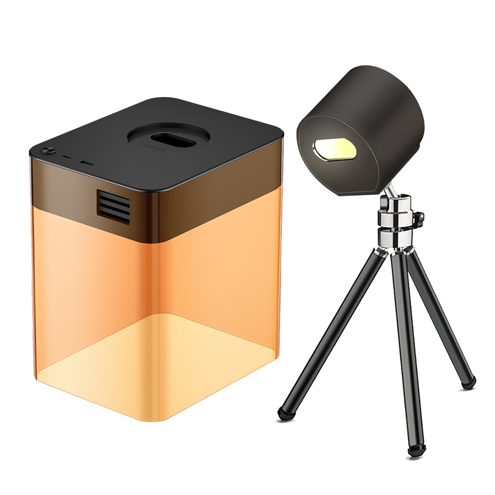 LaserPecker L1 Mini costume de graveur laser Bluetooth avec coque de protection App Control Overheat Shutdown Lunettes de protection - Noir