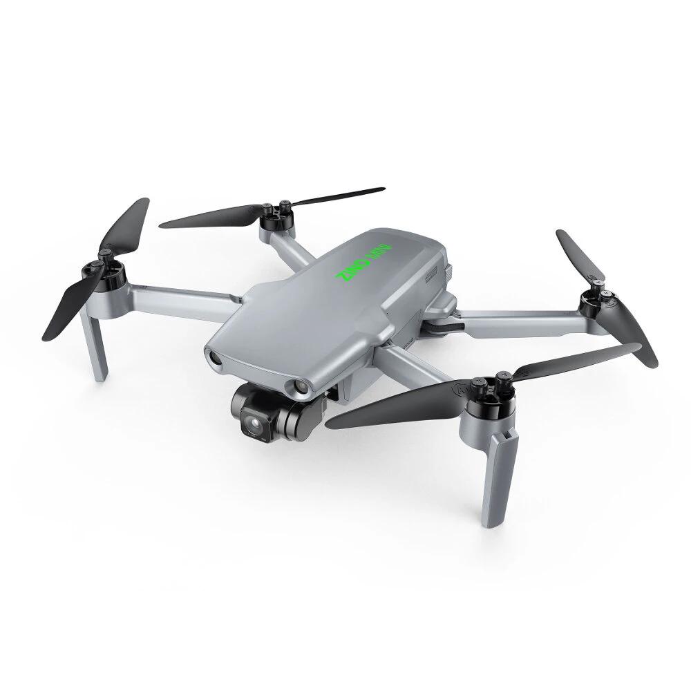Hubsan Zino Mini Pro GPS 5G WIFI FPV 10KM RC drón 4K 30fps kamerával 3-tengelyes Gimbal - 64GB két elem táskával